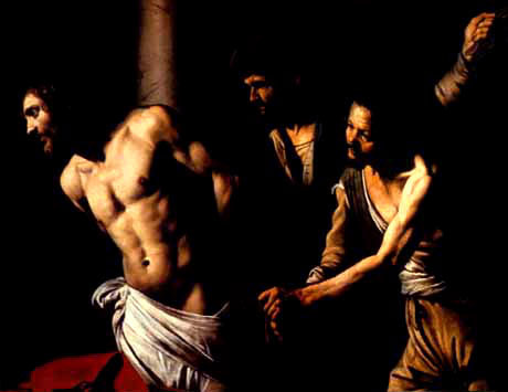 Carravagio scourging